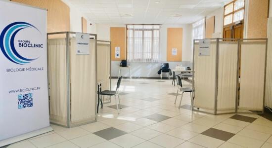 Centre de dépistage Covid-19 – Paris 19ème