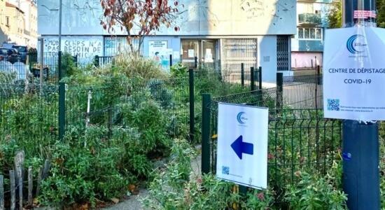 Centre de dépistage Covid19 Montreuil